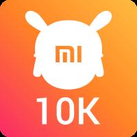 10000 пользователей