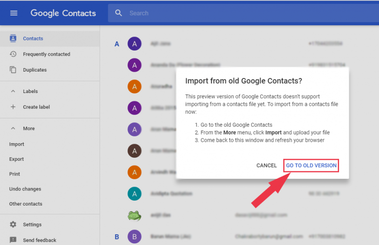 How To Transfer Contacts From Mi Cloud To Google Contacts