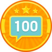 100 ответов в октябре