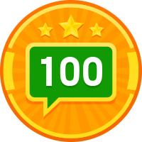 100 ответов в сентябре