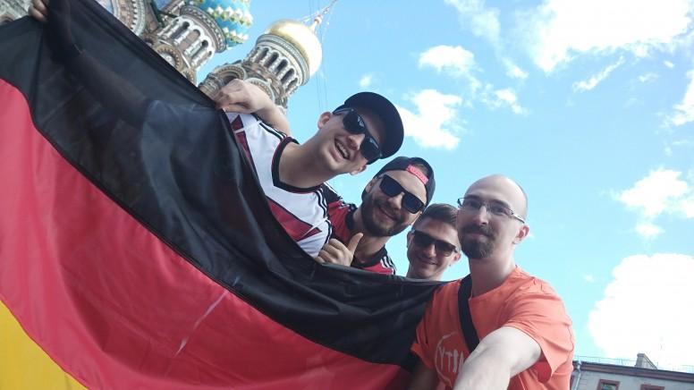 Фанаты Германии. как я был рад заселфиться с людми из с ...