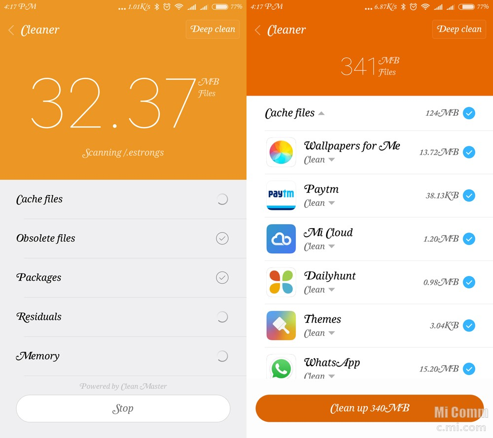 [device Team] Step By Step Guide: How To Clear Cache Using Miui Security