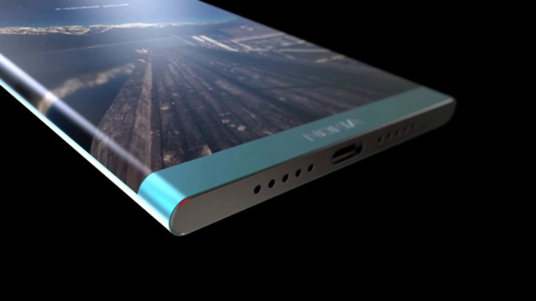 "Bezel-Less ""Nokia Edge"" Concept Sports Button-Less Design ..."
