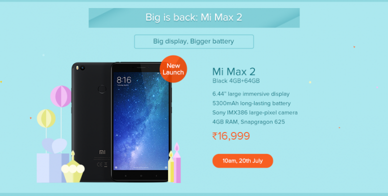 Mi 3rd anniversary: exclusive deals & offers on july 20 and 21st