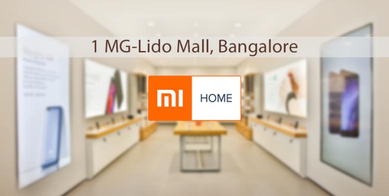 second mi home launched at 1mg lido mall bangalore bulletin mi community xiaomi. Black Bedroom Furniture Sets. Home Design Ideas
