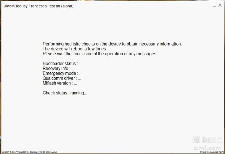 Xiaomi Tool - Công cụ flash ROM không cần mở khóa bootloader