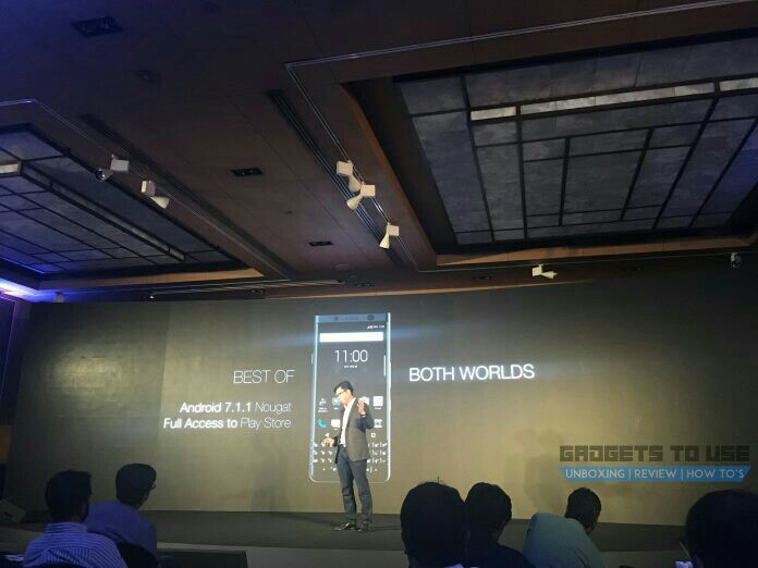BlackBerry KEYone Launched In India With Dual SIM, Nougat At Rs. 39,990