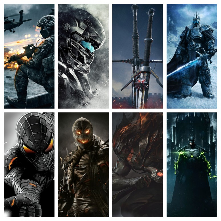 RT Awesome Video Game Wallpapers For Your Smartphones