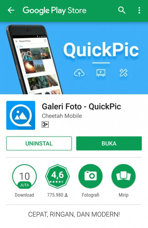 Siapa sih yang nggak tau aplikasi QuickPic? - Teknologi - Mi