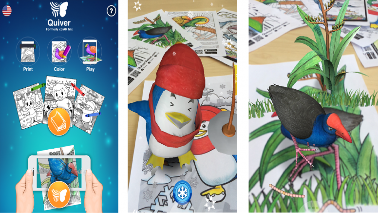 RT Quiver - 3D Coloring App - Resources - Mi Community ...