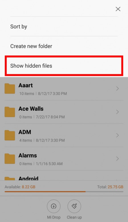 Lost hidden photos in Gallery? Here's a solution to get them