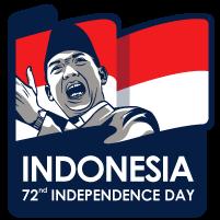 Dirgahayu ke-72 Indonesia