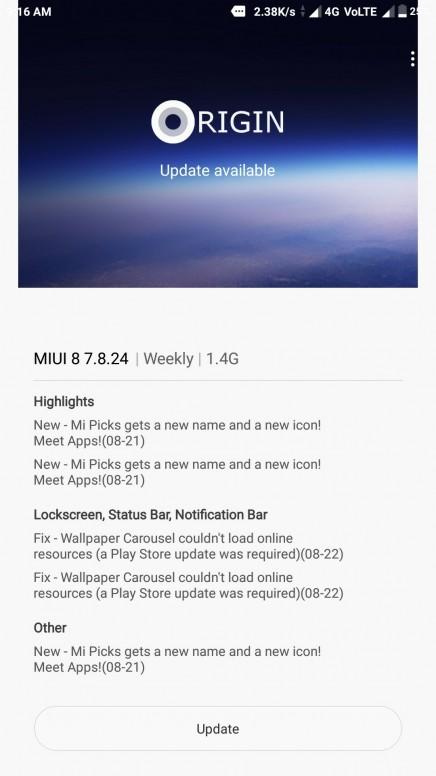 New Update Miui 9 For Mi Max Mi Max Mi Community Xiaomi