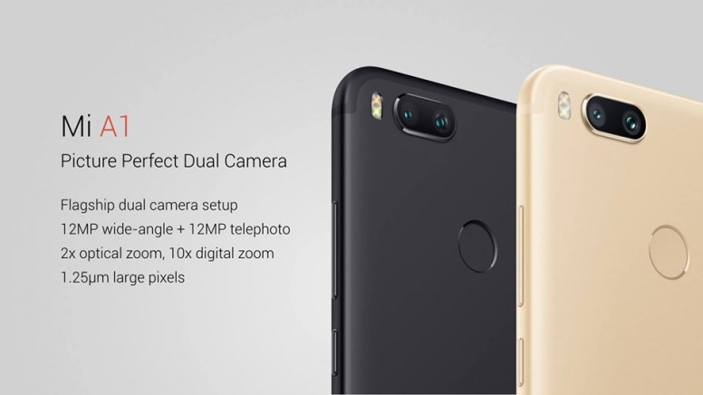 """Xiaomi Launched """"Mi A1 With Pure Android"""""""