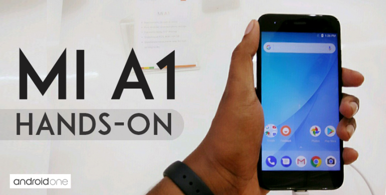 Mi A1 Hands On Images Black Variant Mi A1 Mi