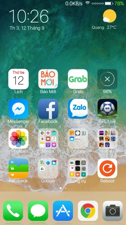 Theme iOS đẹp cho Redmi Note 4 - Redmi Note 4 - Mi Community