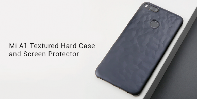 new product 0c225 07bd2 Mi A1 Accessories on Mi.com: Textured Hard Case and Screen Protector ...