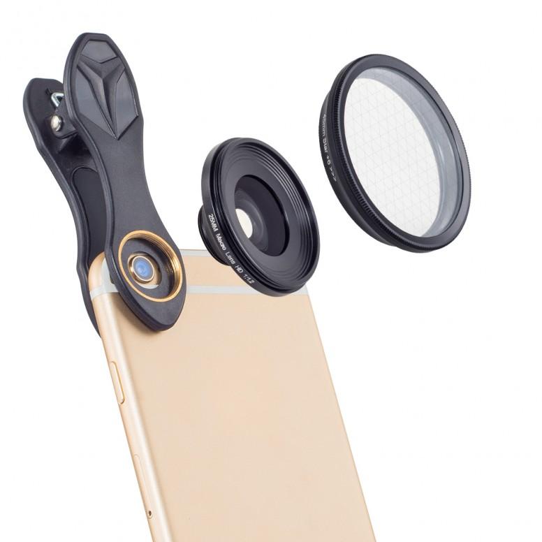 [PT] Apexel 2 in 1 25mm 20x Macro Lens + Star Filter [Sample/ Review] with Mi5