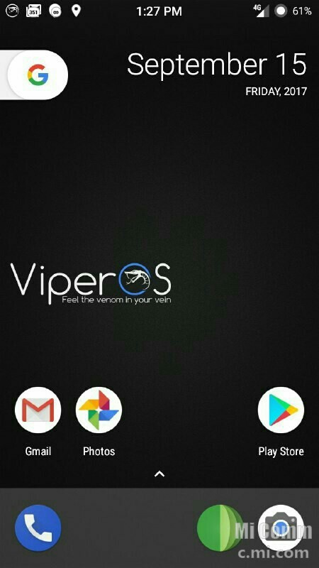 LATEST STABLE]Viper OS ROM On Redmi 3s/3x/3s prime September-2017