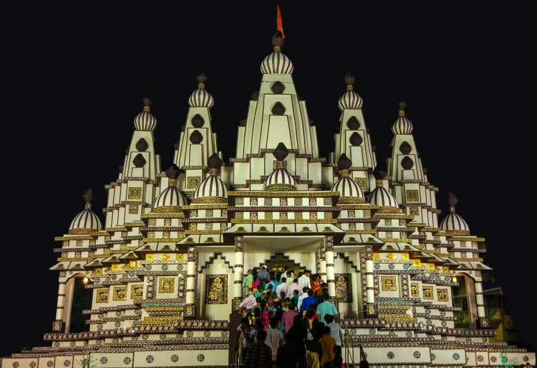 [PT] Low Light Puja Photography with Super Wide Angle Lens + Star Filter [Mi5]