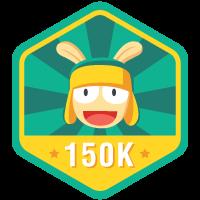 150.000 Pengguna