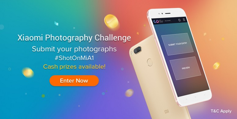 Shotonmia1] xiaomi photography challenge: snap it post it and get a