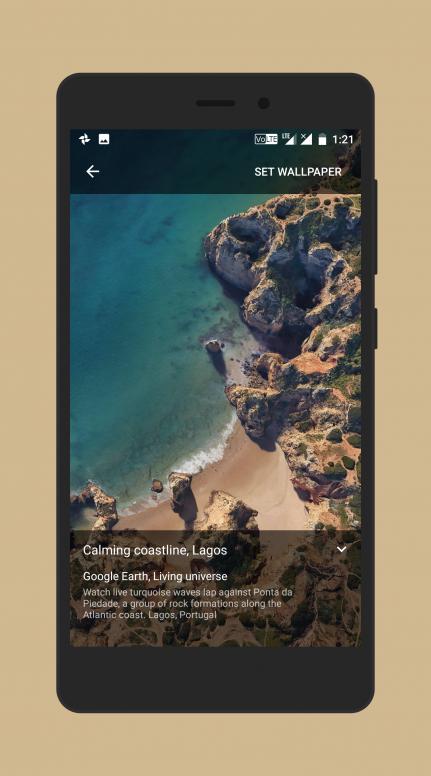 google pixel 1 live wallpaper apk