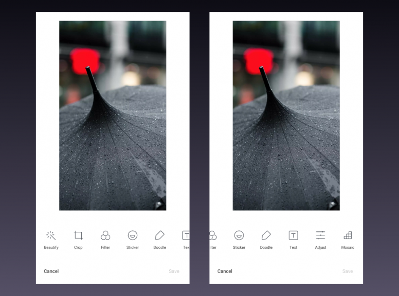 MIUI 9 Gallery App | All New Editing Options - MIUI General