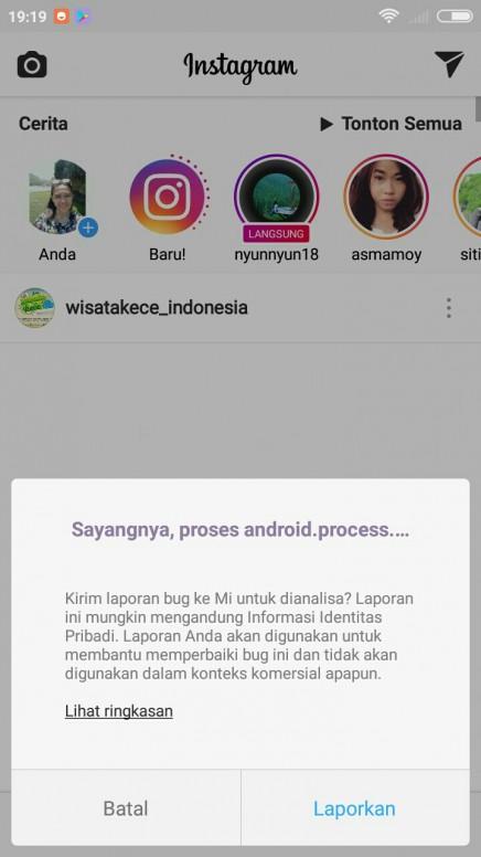 Selalu Muncul Harus Kirim Laporan Bug Setiap Buka Foto Redmi 4x Mi Community Xiaomi