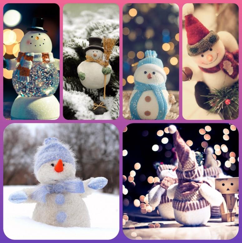 RT Cool Snowman Wallpapers