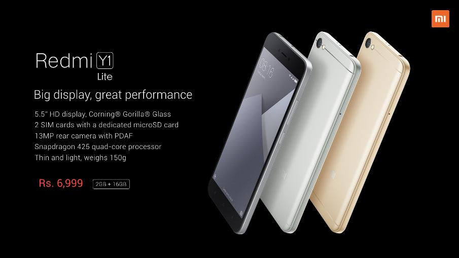 Redmi Y1 And Redmi Y1 Price Specs And Emi Details