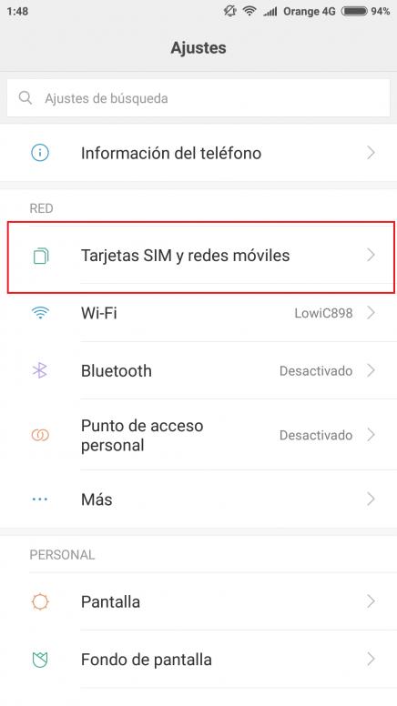 ¿No te funcionan los datos móviles tras actualizar a MIUI 9? Guia para solucionarlo.