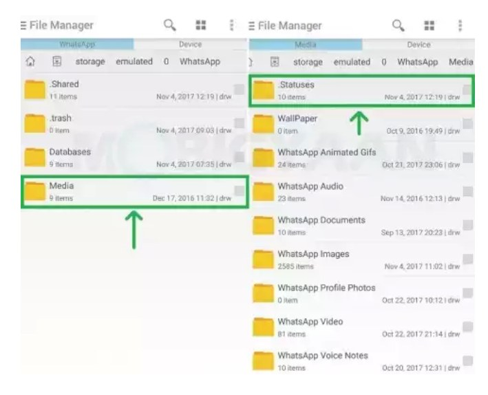 How To Save Whatsapp Status Photos And Videos Tips
