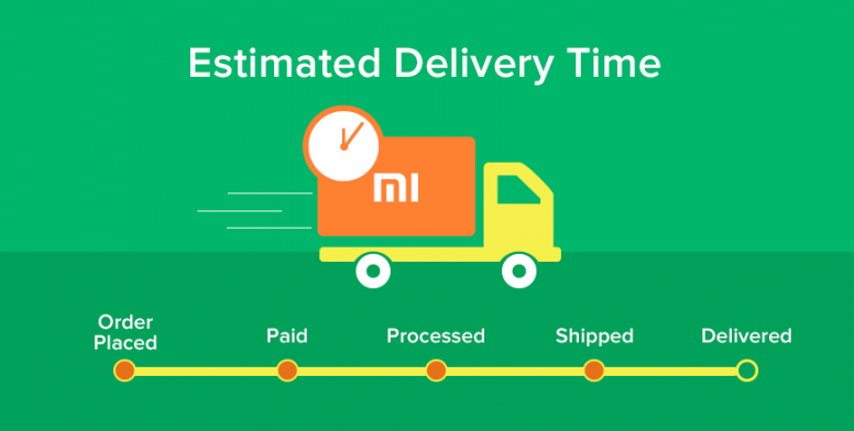 Know The Status Of Your Order With Estimated Delivery Time
