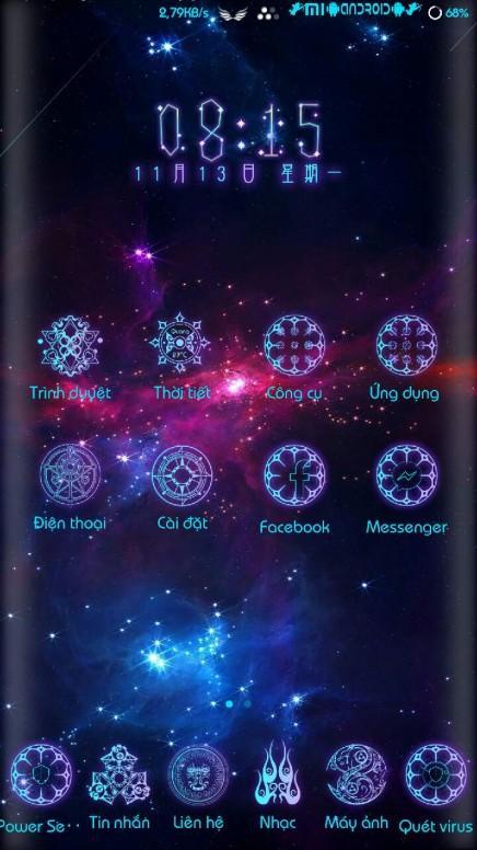Share theme 12 chòm sao