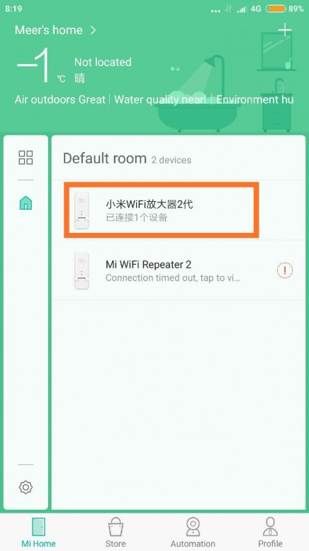 Cách fix lỗi báo kết nối không thành công của thiết bị wifi xiaomi repeater 2