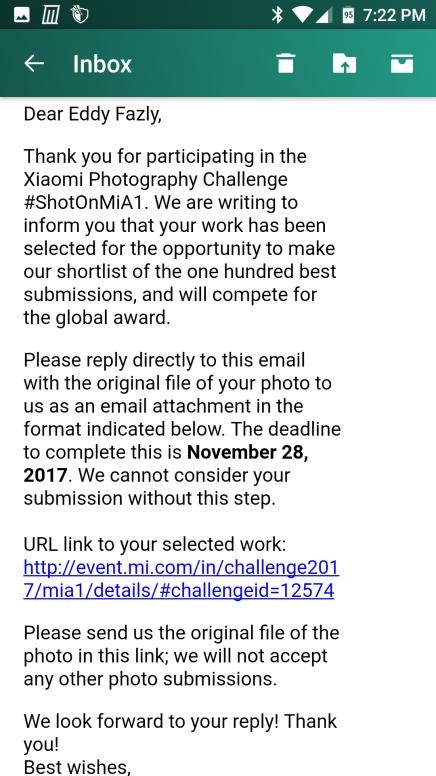 ShotonMiA1] Xiaomi Photography Challenge: Snap it, Post it