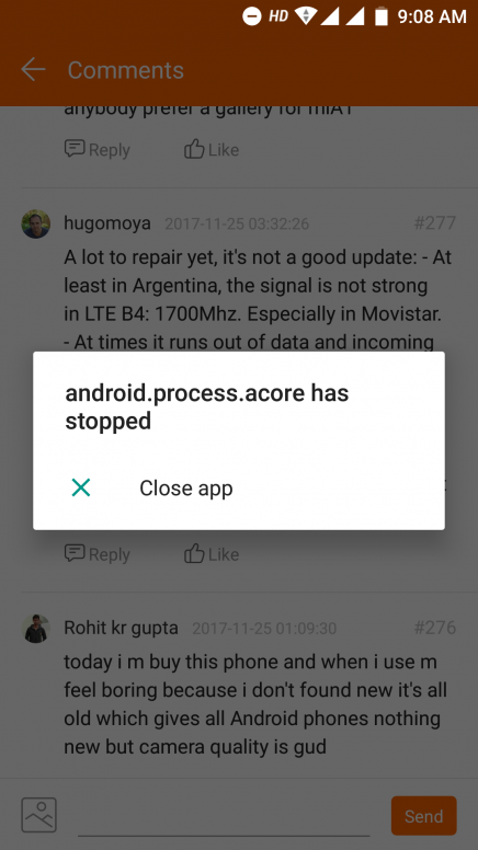 Beta Stable] Stock Android 7 11 18 Rolling out for Mi A1  Feedback