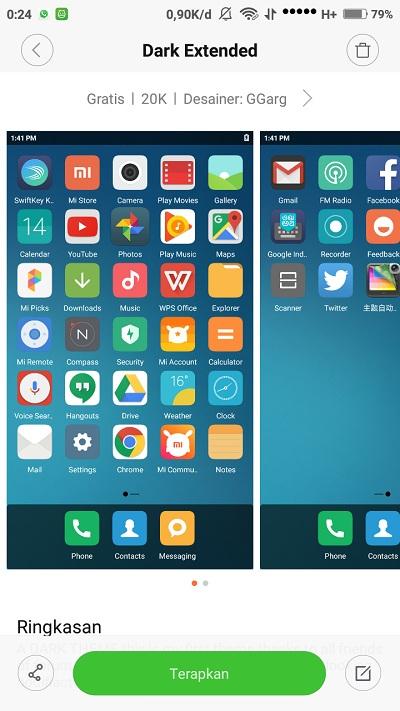 Begini Cara Per Unik Tampilan Menu Mi Phone Kamu Menjadi Ala Tablet Sumber Mi Community Xiaomi