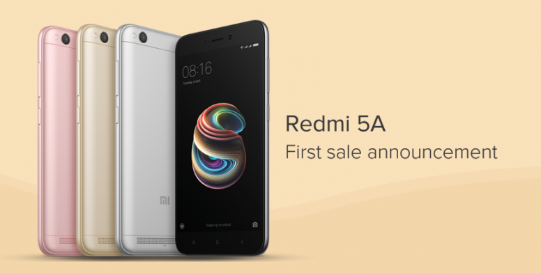 Xiaomi 1st anniversary ~ First sale of redmi 5a on 7th december redmi 5a mi community