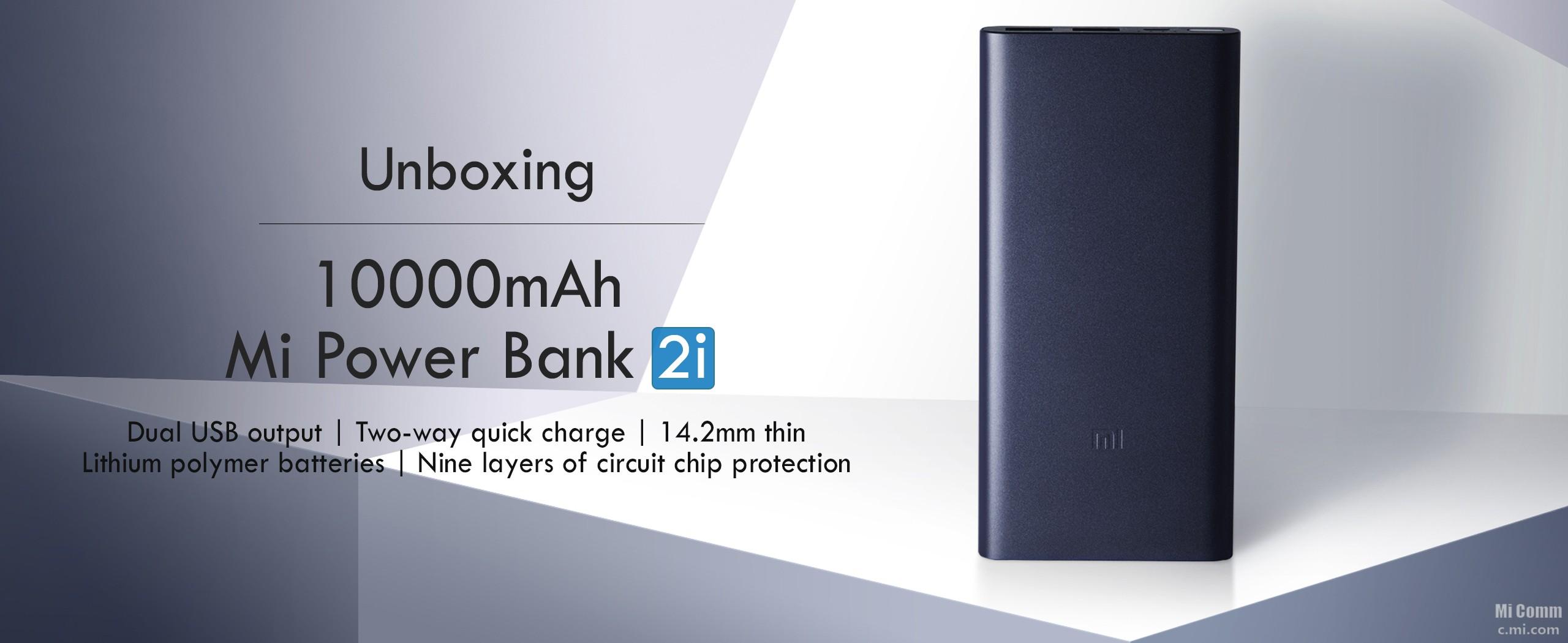Unboxing 10000mah Mi Power Bank 2i Accessories Community Xiaomi Powerbank Slim 10000ma