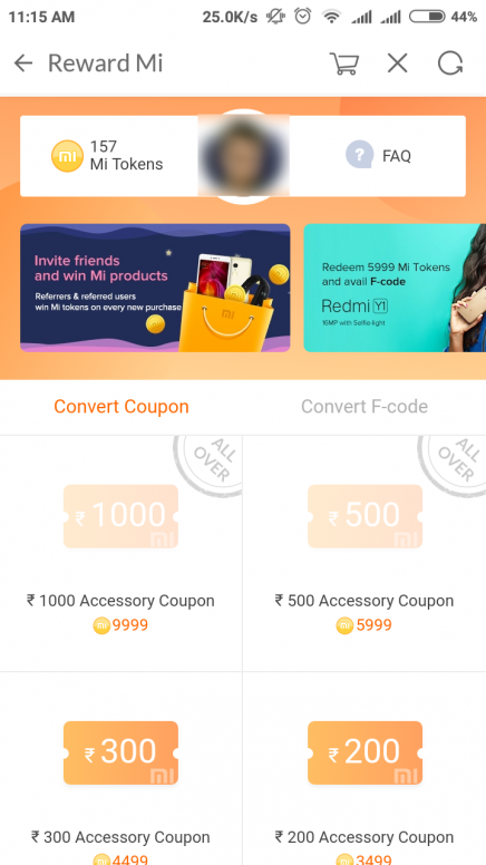 Refer your friends and win Mi tokens & exciting gifts on mi.com