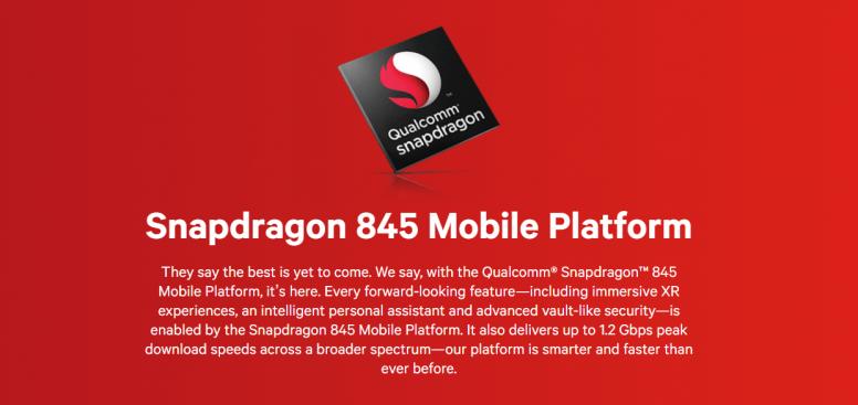 Snapdragon 845 chính thức: chụp hình đẹp hơn, video 4K HDR 60fps, chip bảo mật riêng, mạnh hơn 25%