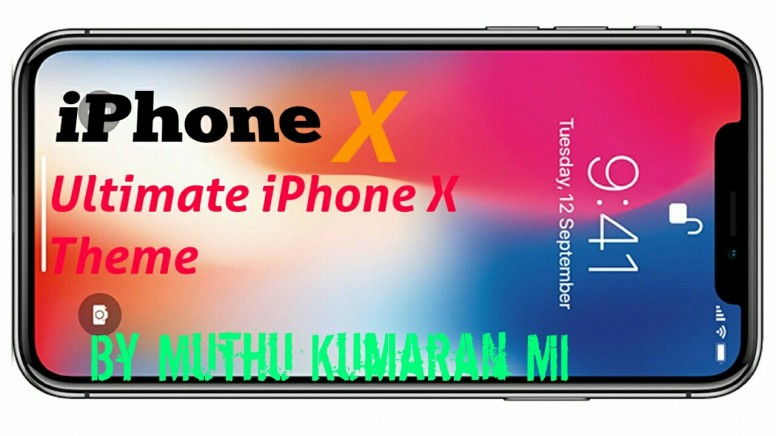 Ultimate iPhone X Theme For MIUI 8 - Themes - Mi Community - Xiaomi