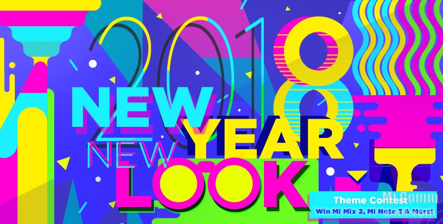 new year new look miui theme contest final winners announced