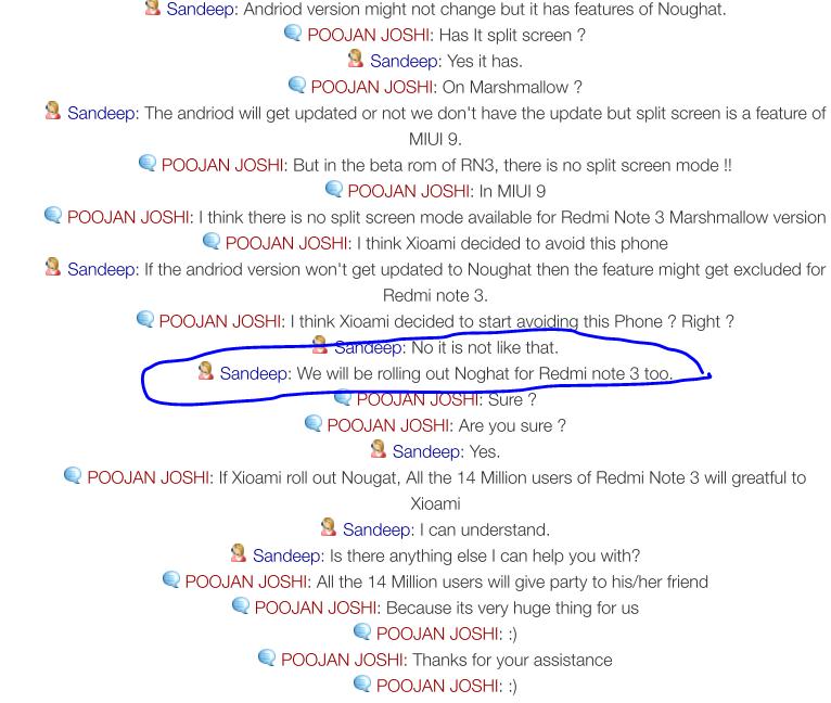 Xioami Might give Nougat to Redmi Note 3 Users - Redmi Note