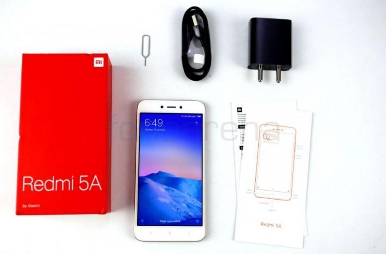 Redmi Note 5A Unboxing - Redmi Note 5A/5A Prime - Mi