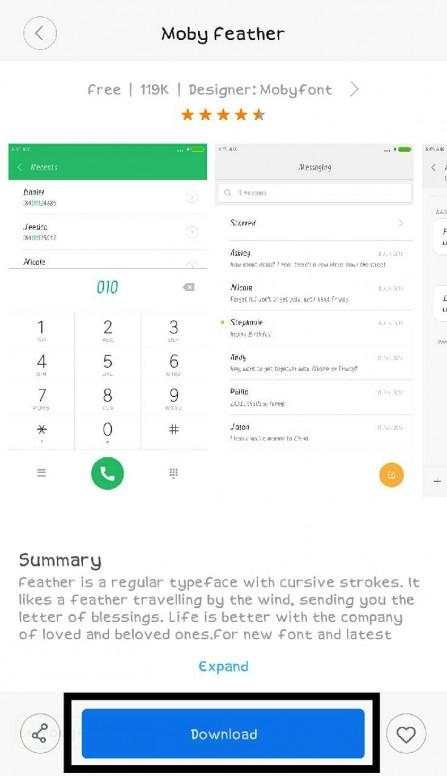 Guide] How To Apply Fonts Using Mi Themes! - Themes - Mi
