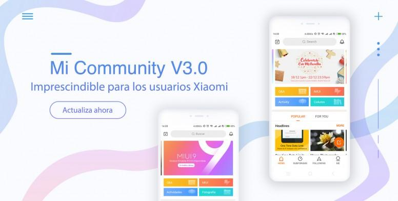 f87689cb30c1 Descubre Mi Community App v3.0  Nuevo Diseño
