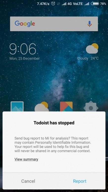 I am unable to get reminders and notifications from todoist